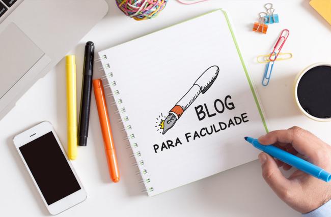 Passo a passo de como criar um blog para uma faculdade